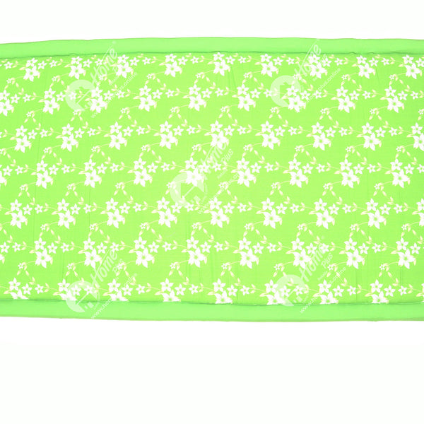 Travel Bed SF- Wind Flower Green