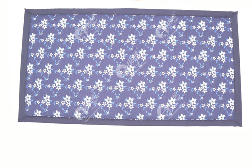 Travel Bed SF- Wind Flower Navy