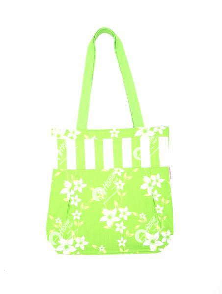 Shopping Bag - Wind Flower Green