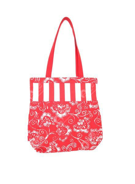 Shopping Bag - viva Red