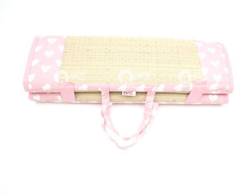 Baby Travel Bed - Heart Pro Pink