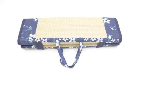 Baby Trave Bed - Wind Flower Navy