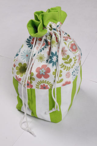 Gift Bag - Retro Flowers