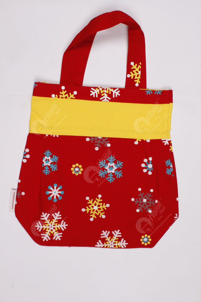 Fancy bag - Red Snowflake