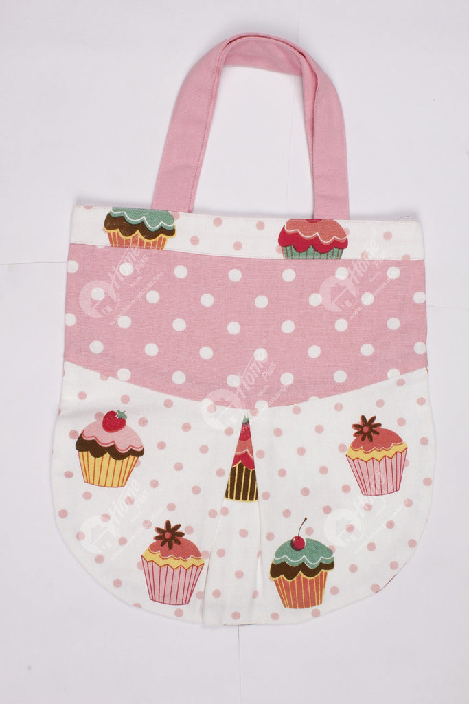 Fancy bag - Cup Cakes, Oval