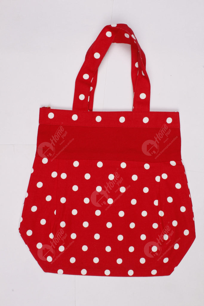 Fancy bag - Polka Dot  Red