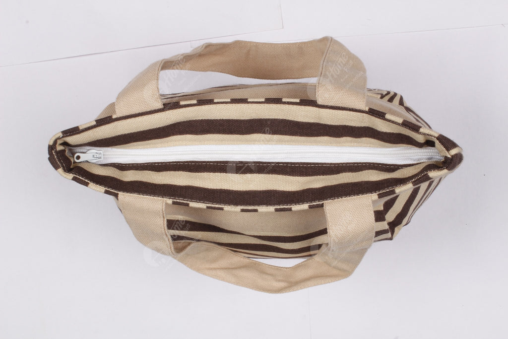 Fancy bag - Thin Stripe Choco