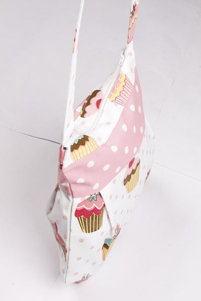 Fancy Bag Long Handle - Cup Cakes
