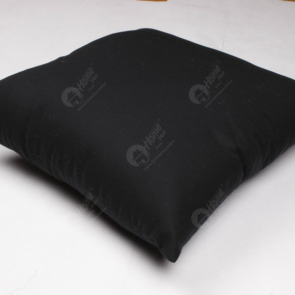 Solid Cushion - Black