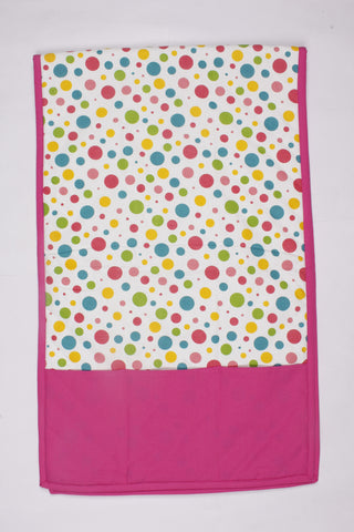 Fridge Cover Set - Multi Polka