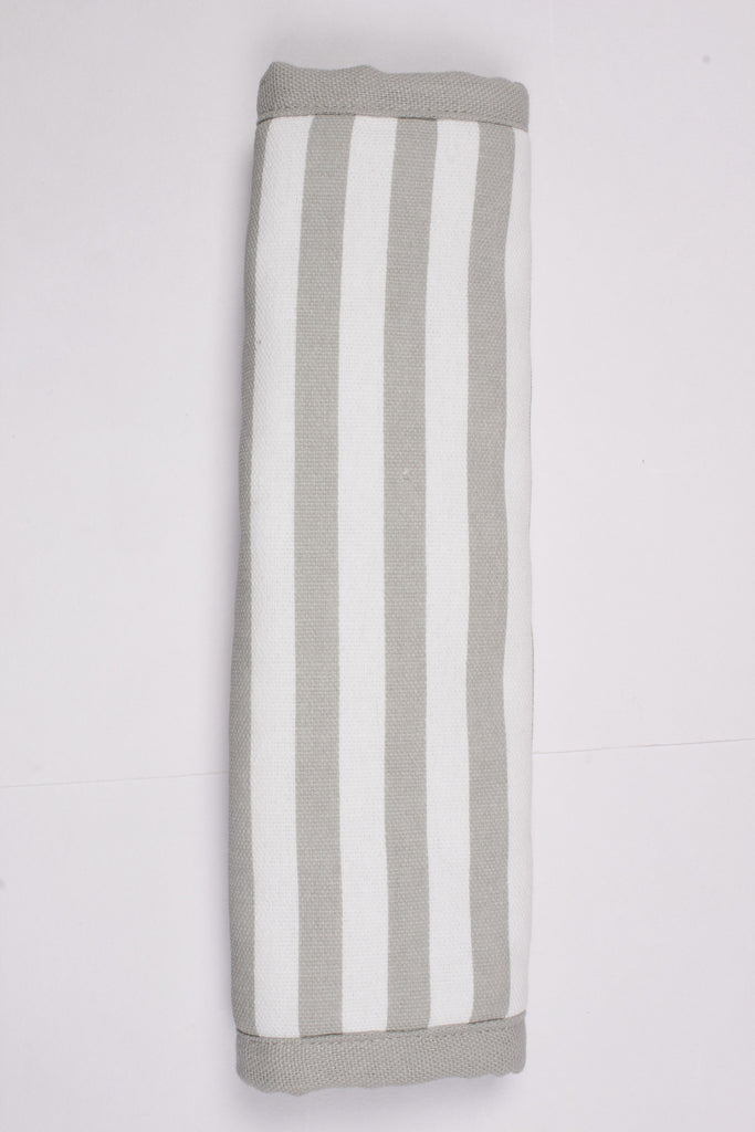 Fridge Cover Set - Thin Stripe Grey