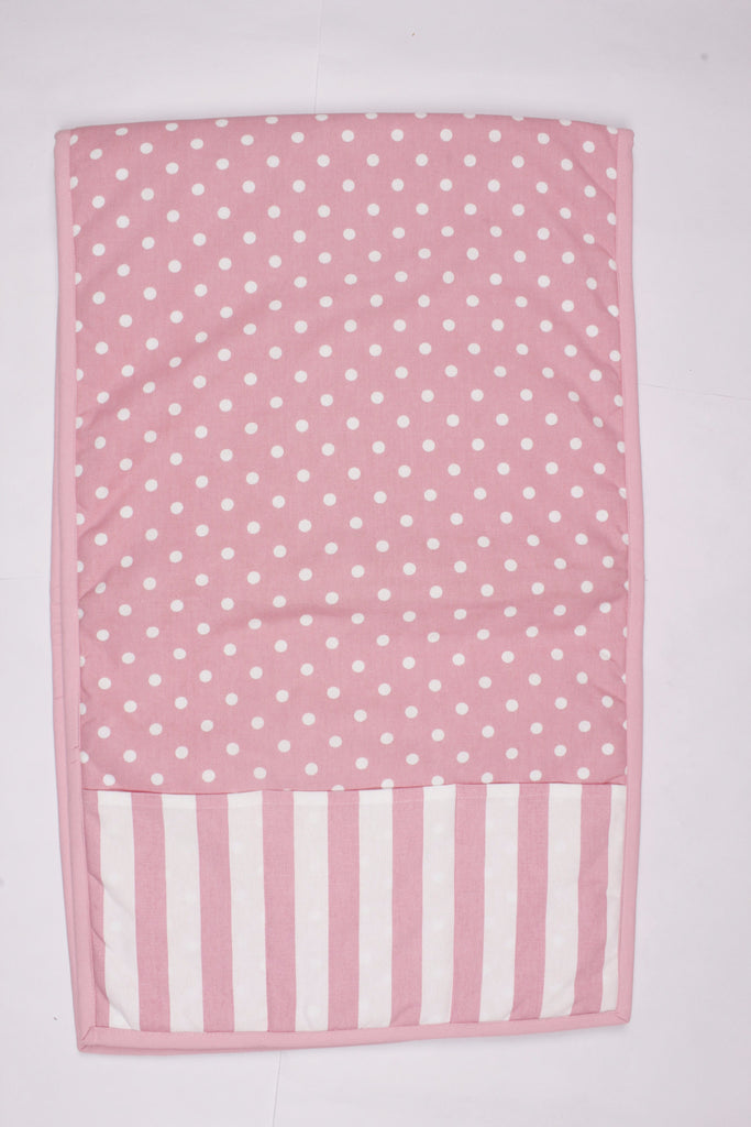 Fridge Cover Set - Polka Dot Pink