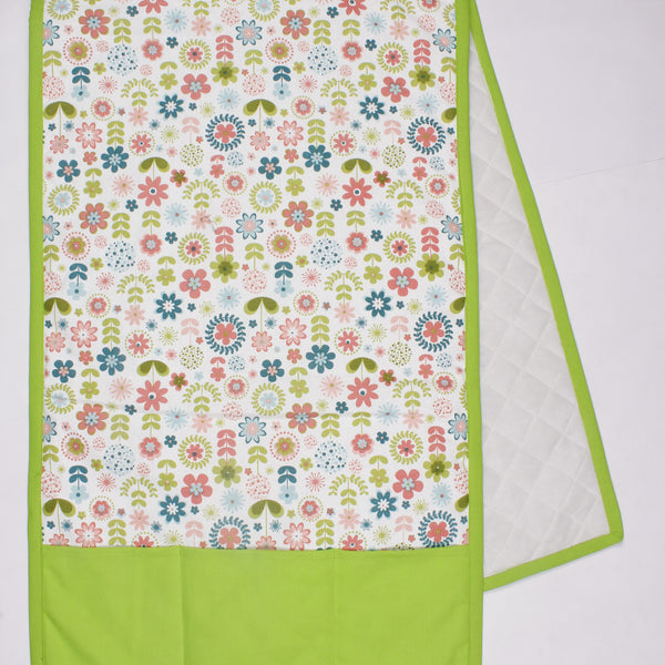 Fridge Cover - Retro Flowers