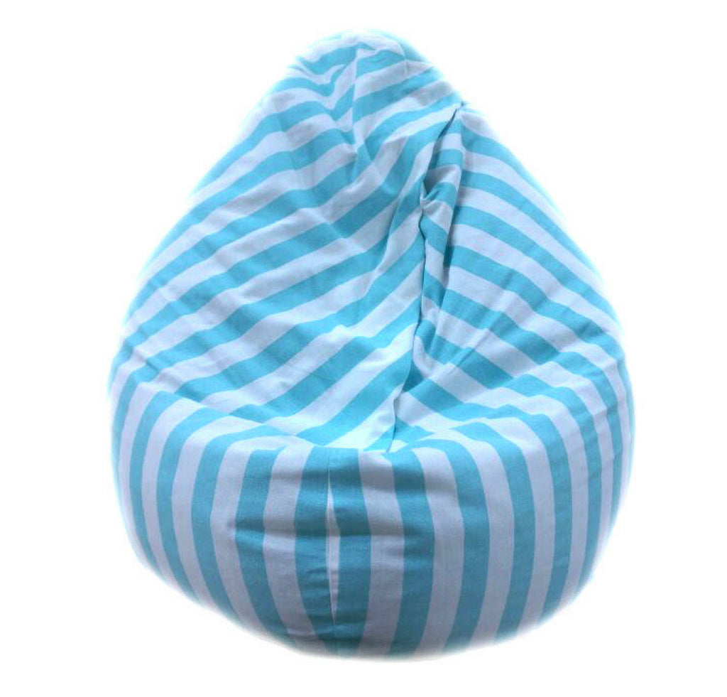Bean Bag - Thick Stripe Blue