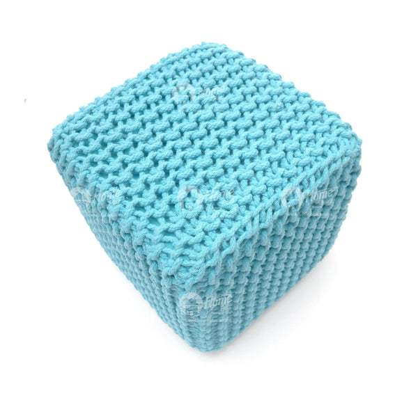 Knitted Cube Teal