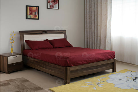 Duvet Cover 300TC - Maroon