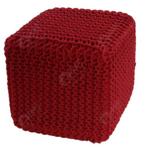 Knitted Cube Red