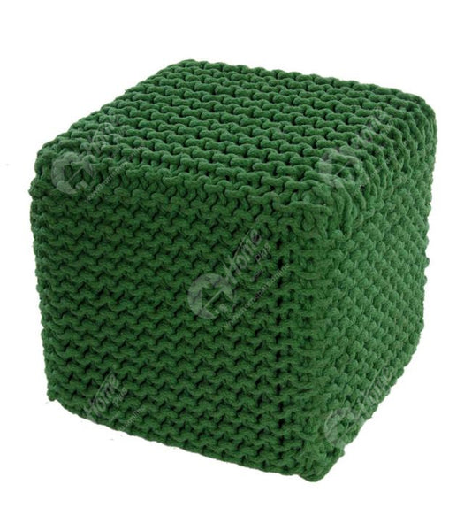 Knitted Cube Green