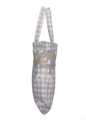 Fancy bag - Gingham Check Beige