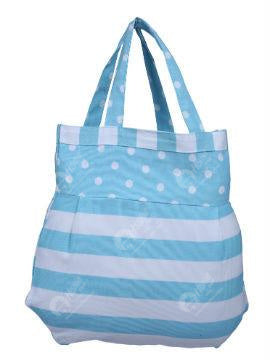 Fancy bag - Thick Stripe Blue