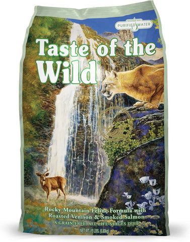 Taste of the Wild Rocky Mountain Dry Cat Food - Venison & Salmon - XclusivePets