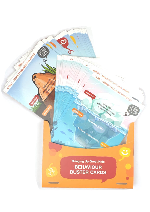 Bringing Up Great Kids - Behaviour Buster Cards