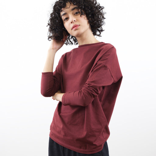 Le Top Batwing Bordeaux