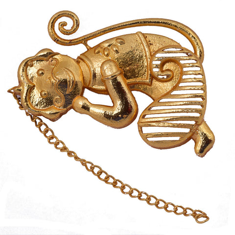 Shakuntala Monkey Earrings - mrinalinichandra - 2