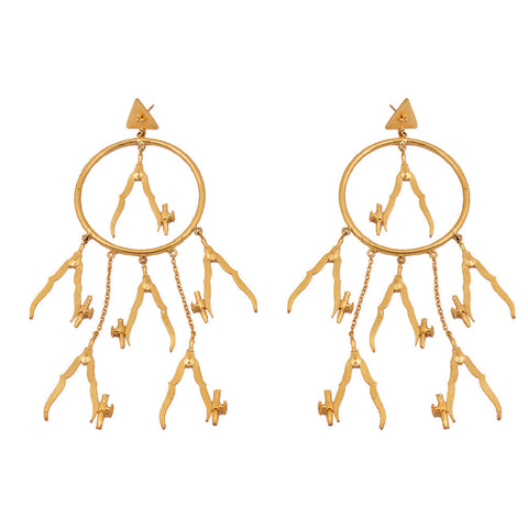 Mathematics Number 2 Earring