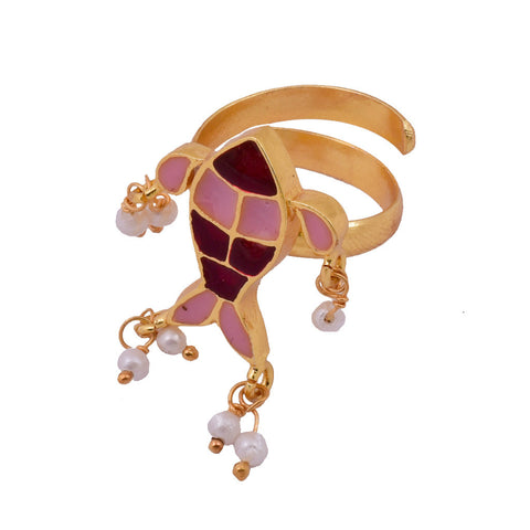 Shakuntala Flower Ring