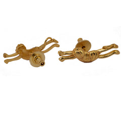 Shakuntala Small Monkey Earring - mrinalinichandra - 2