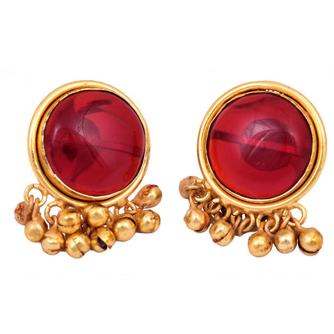 Red Ghungroo Ring