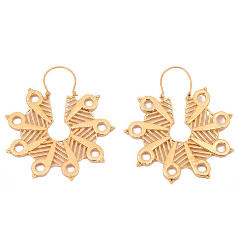Mathematics Number 9 Earring - mrinalinichandra - 1