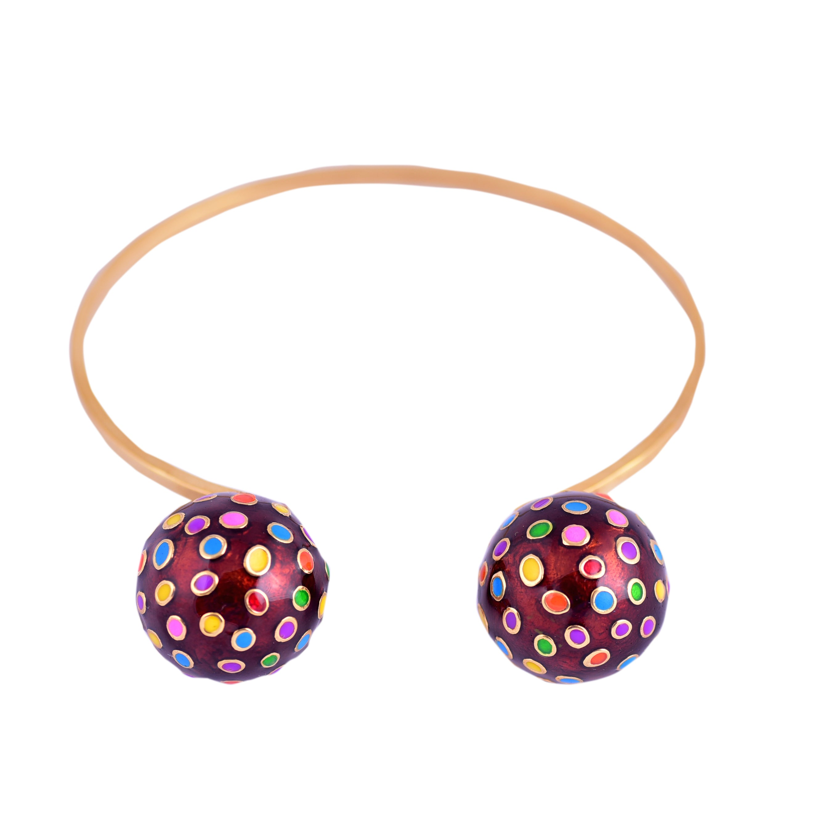 Color Bomb Open Bangle