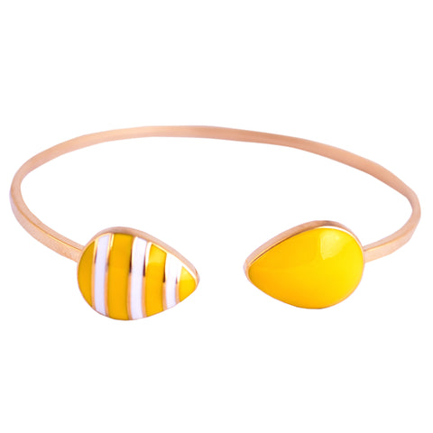 Lemon Drop Open Bangle