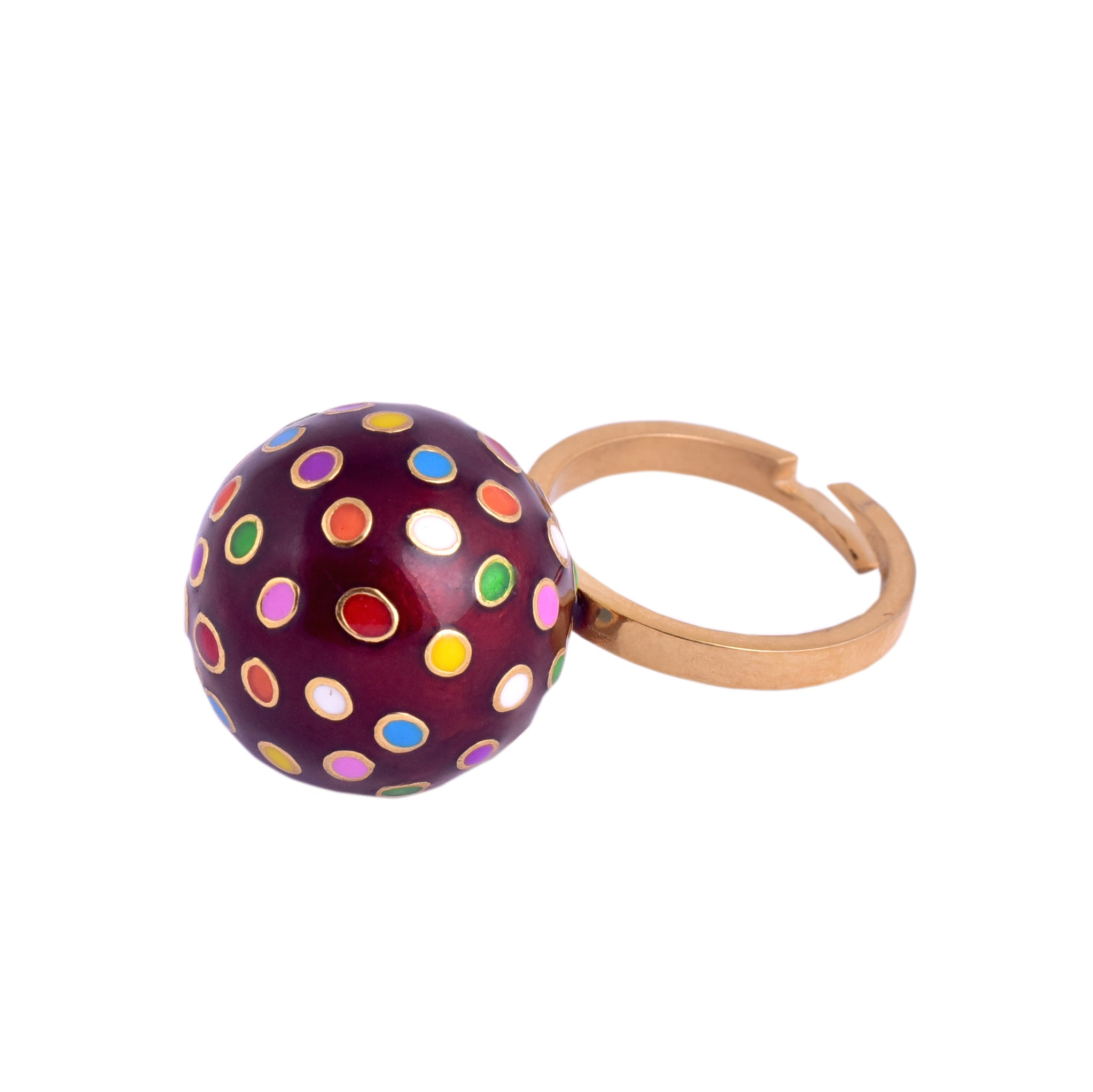 Color Bomb Candy Ring