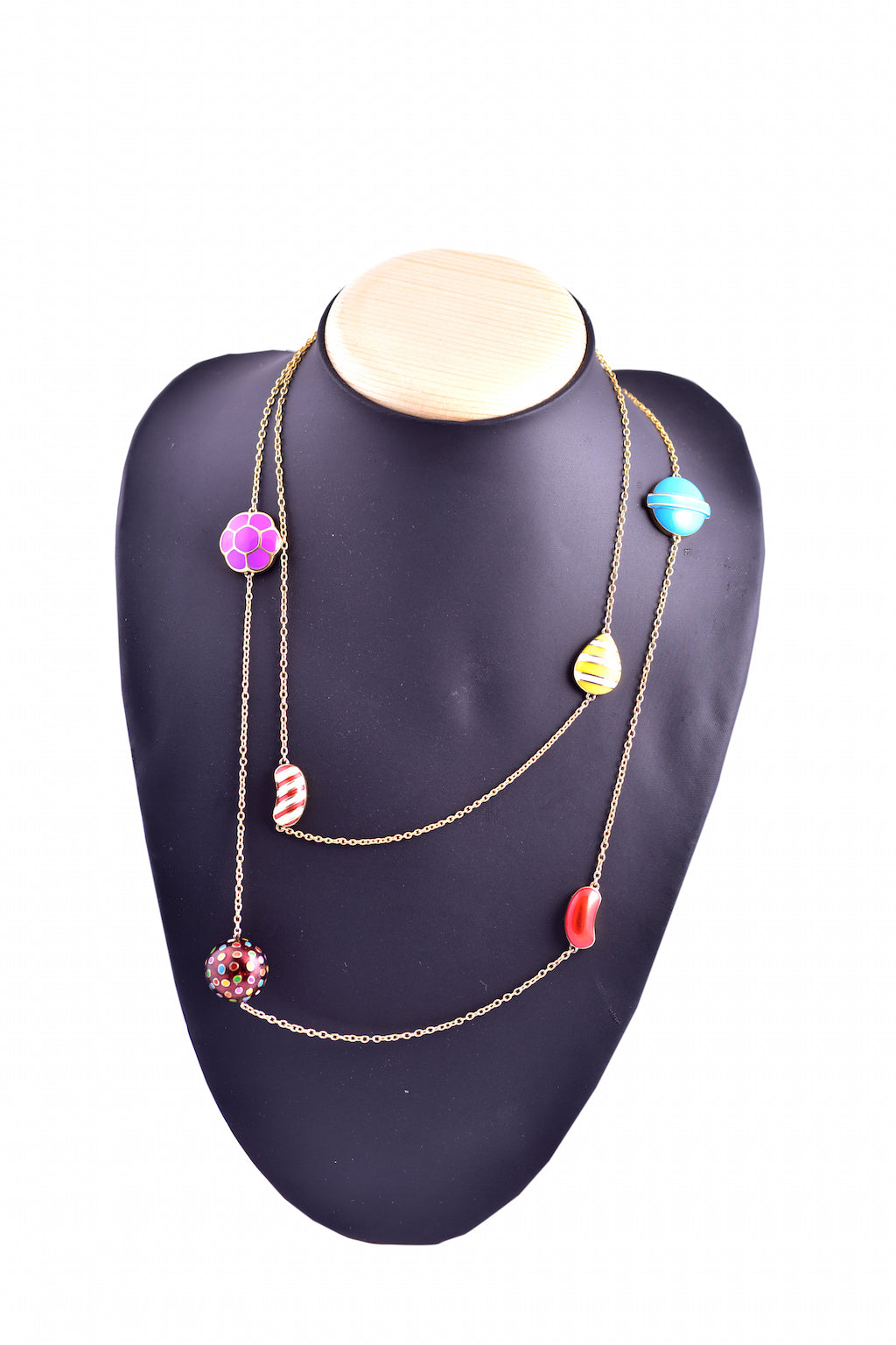 6 Candy Lariat Necklace