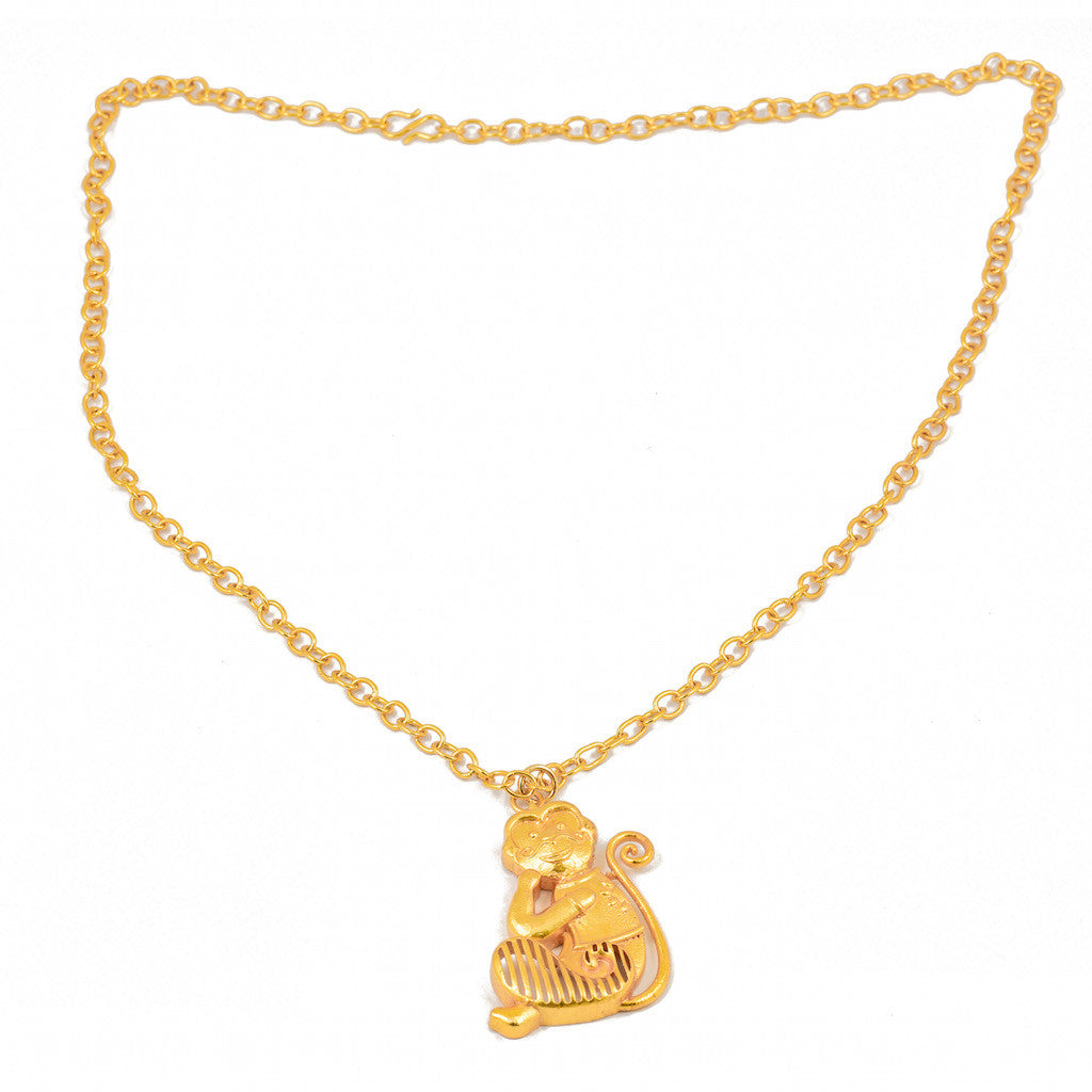 Shakuntala Nawabi Monkey Necklace