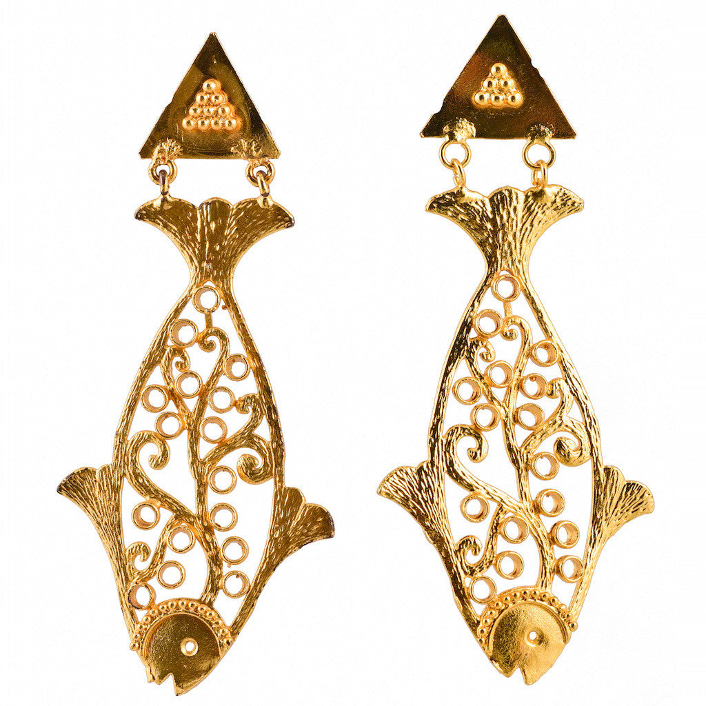 Shakuntala Fish Earrings