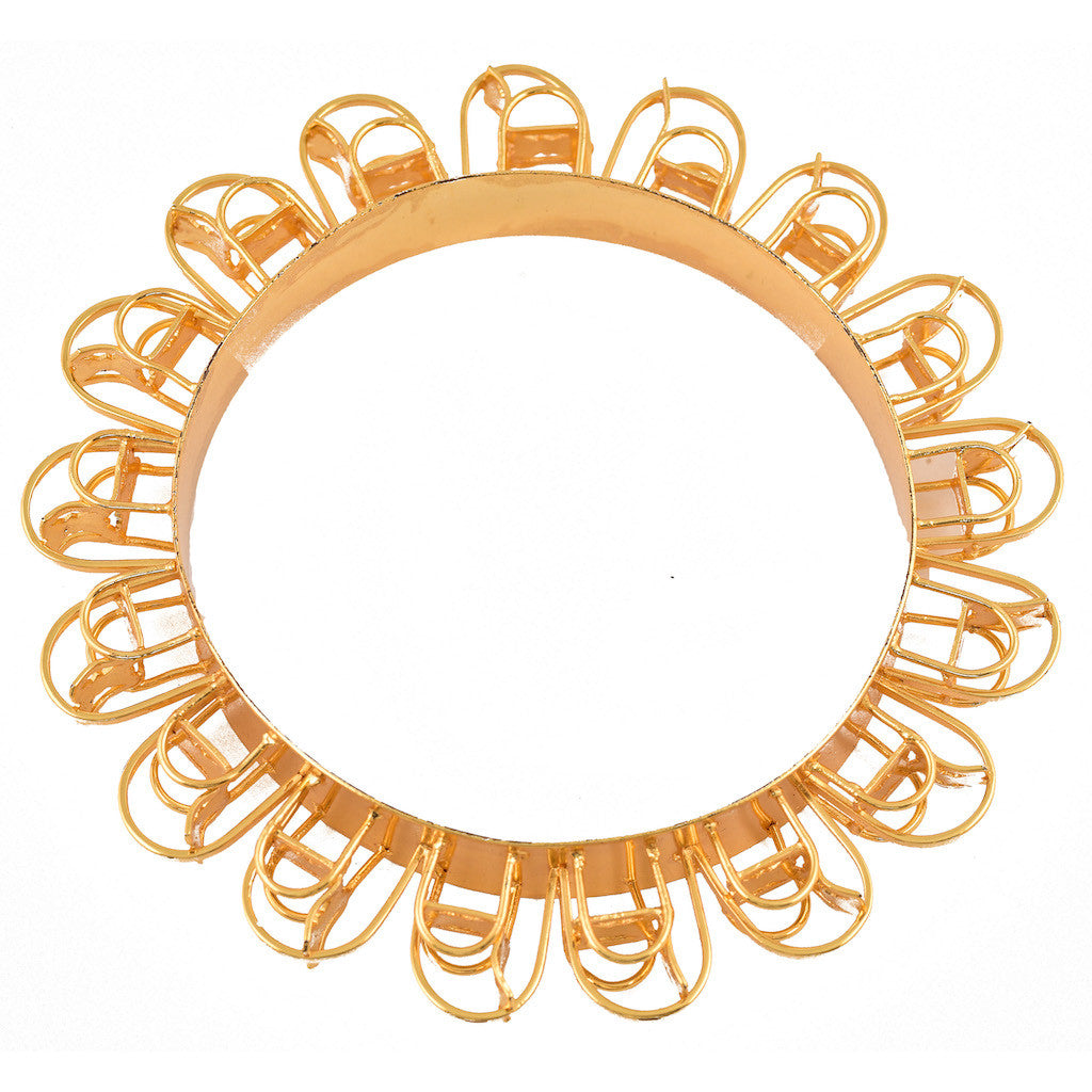 Please Have A Seat Single Row Musical Chair Bangle