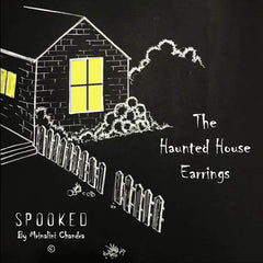 The Haunted Brick House Earring