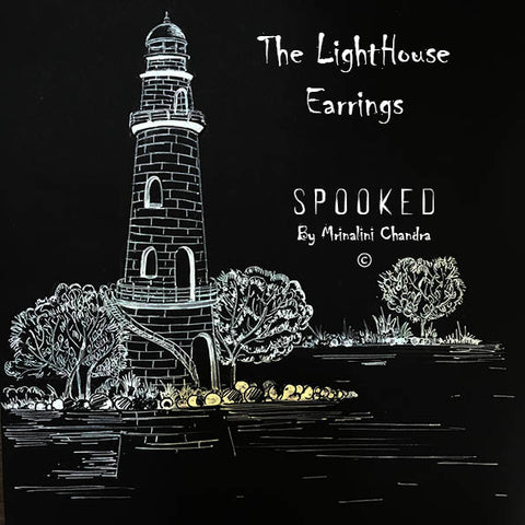 The Haunted Lighthouse Earring