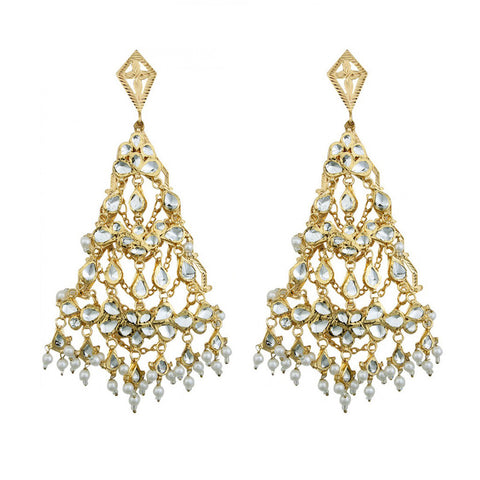 Nerfetities Indian Dream Cutwork Heart Earrings