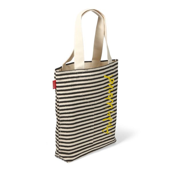 Andy Warhol TALL Tote - Banana