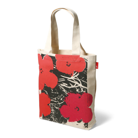 Andy Warhol TALL Tote - Flowers