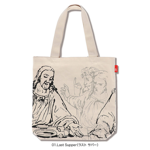 Andy Warhol TALL Tote - Last Supper