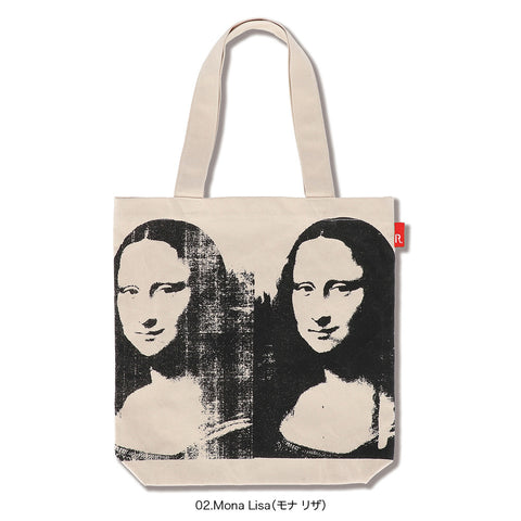 Andy Warhol TALL Tote - Mona Lisa