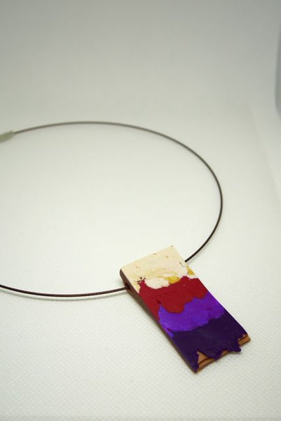 Embracing Imperfection - Pendant Red
