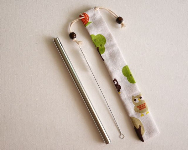 Bamboo Straw Kit 竹吸管套装