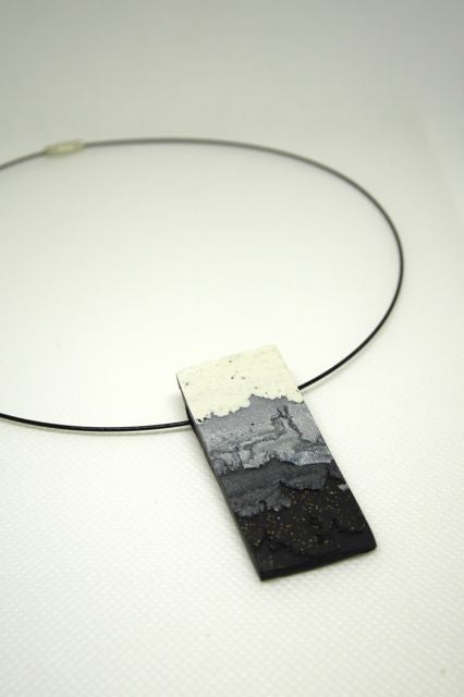 Embracing Imperfection - Pendant Black